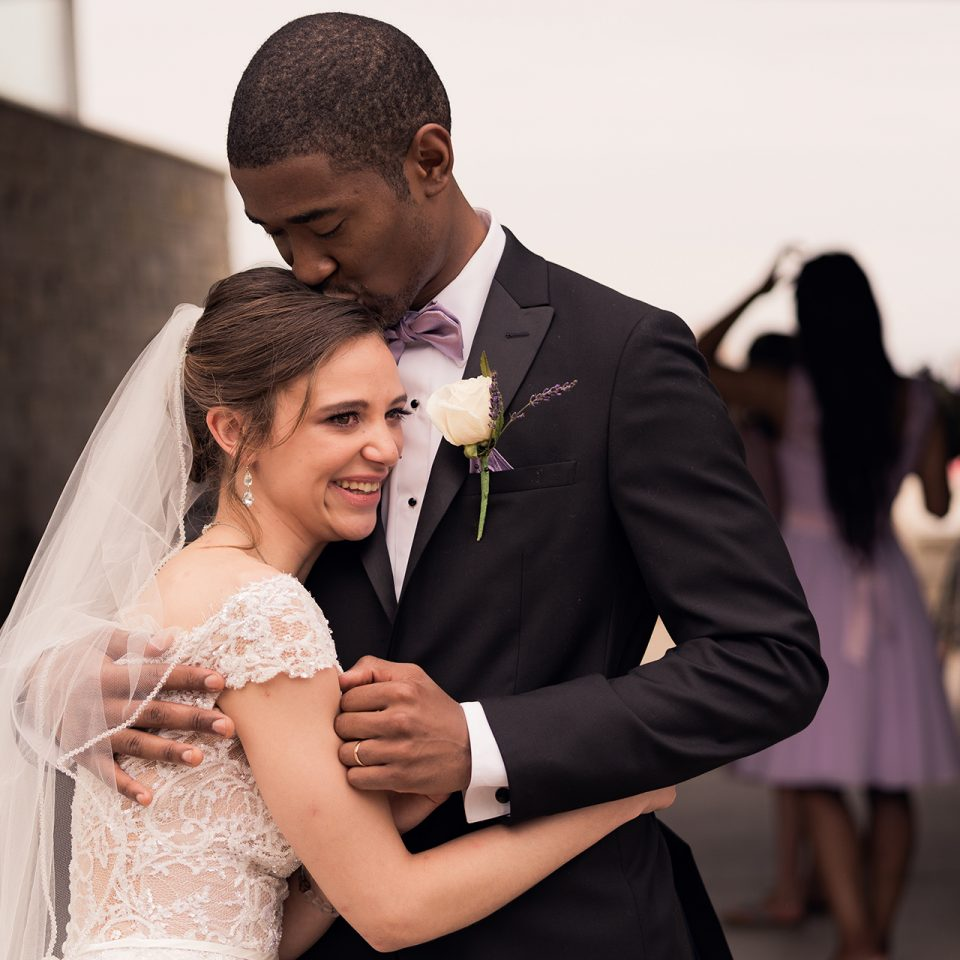 Chicago Wedding Photographer | Miracle and Ariel Jenkins Wedding - Clark Street Beach - Evanston