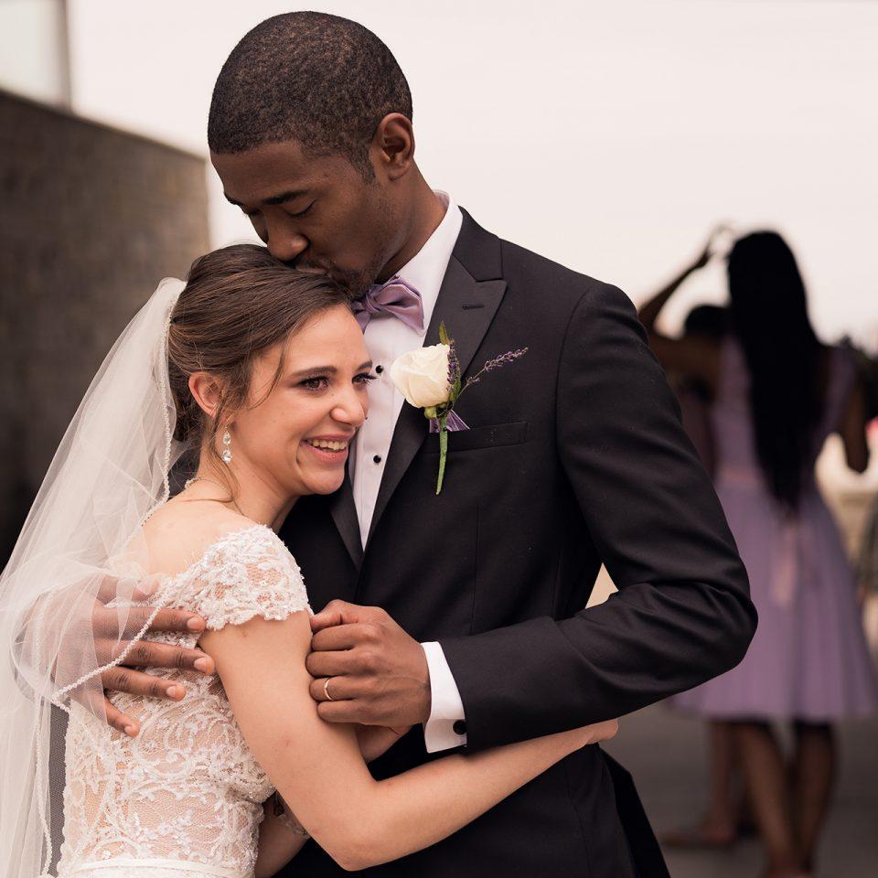 Chicago Wedding Photographer   Miracle and Ariel Jenkins Wedding - Clark Street Beach - Evanston